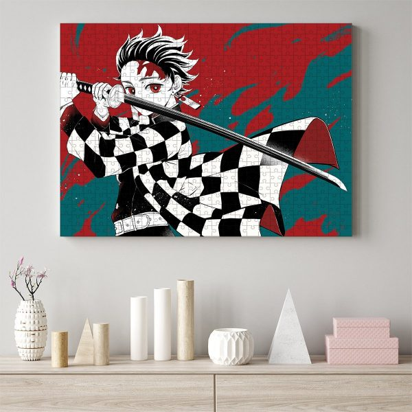 Tanjiro Puzzle Official Demon Slayer Merch