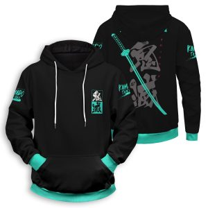 Tanjiro Style Unisex Pullover Hoodie Official Demon Slayer Merch
