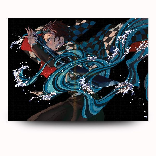 Water Breathing Puzzle Official Demon Slayer Merch