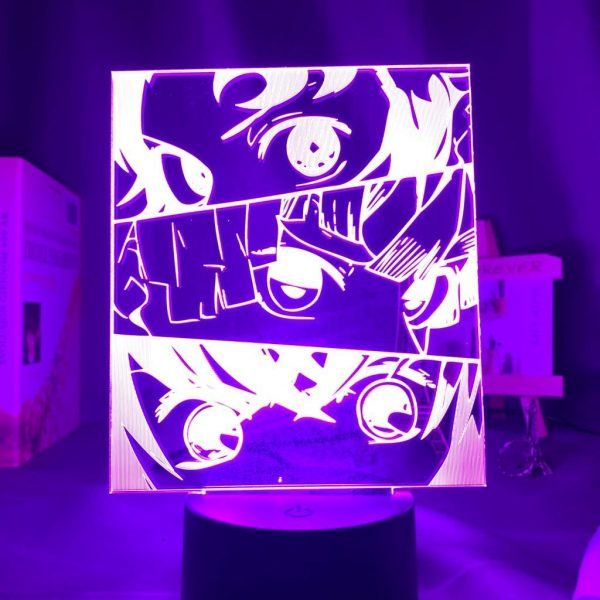 Demon Slayer Lamp  3 Heroes / 3 Senses Without Remote (7 colors) Official Demon Slayer Merch