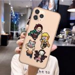 Demon Slayer iPhone Case  The 4 Cute iPhone 6 6S Official Demon Slayer Merch