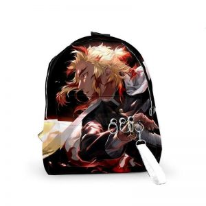 Demon Slayer Backpack  Rengoku Kyojuro  Ready to Fight Default Title Official Demon Slayer Merch