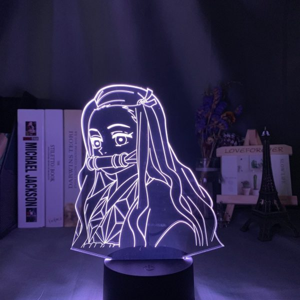 Demon Slayer Lamp  Nezuko Side Face Without Remote (7 colors) Official Demon Slayer Merch