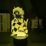Demon Slayer Lamp Tanjiro  Preparing to Fight Without Remote (7 colors) Official Demon Slayer Merch