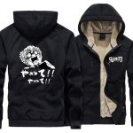 Demon Slayer Jacket  Zenitsu Face  Crying to Death S Official Demon Slayer Merch